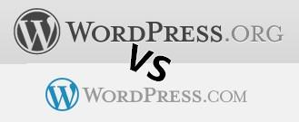 Wordpress org vs WordPress com