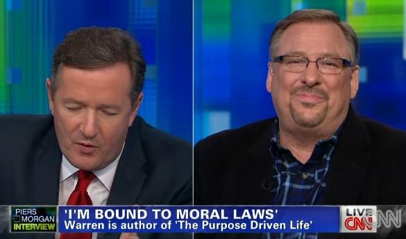 Rick Warren live on CNN
