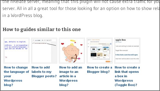 related posts on how to blog info