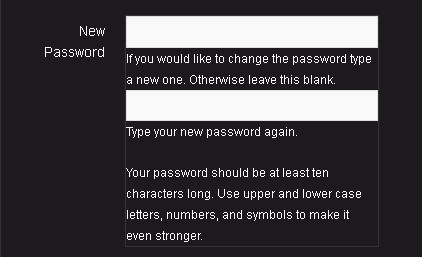 bbpress password problems