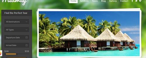 Travel Agency WordPress Template
