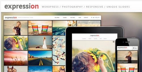 Travel - Photo blogger theme