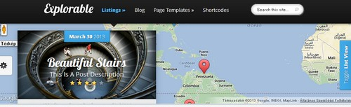 Travel - explorable WordPress