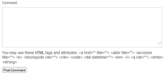 You may use these HTML tags and attributes