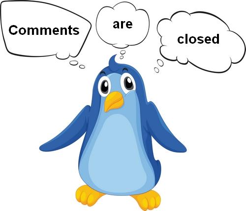 remove comments are closed