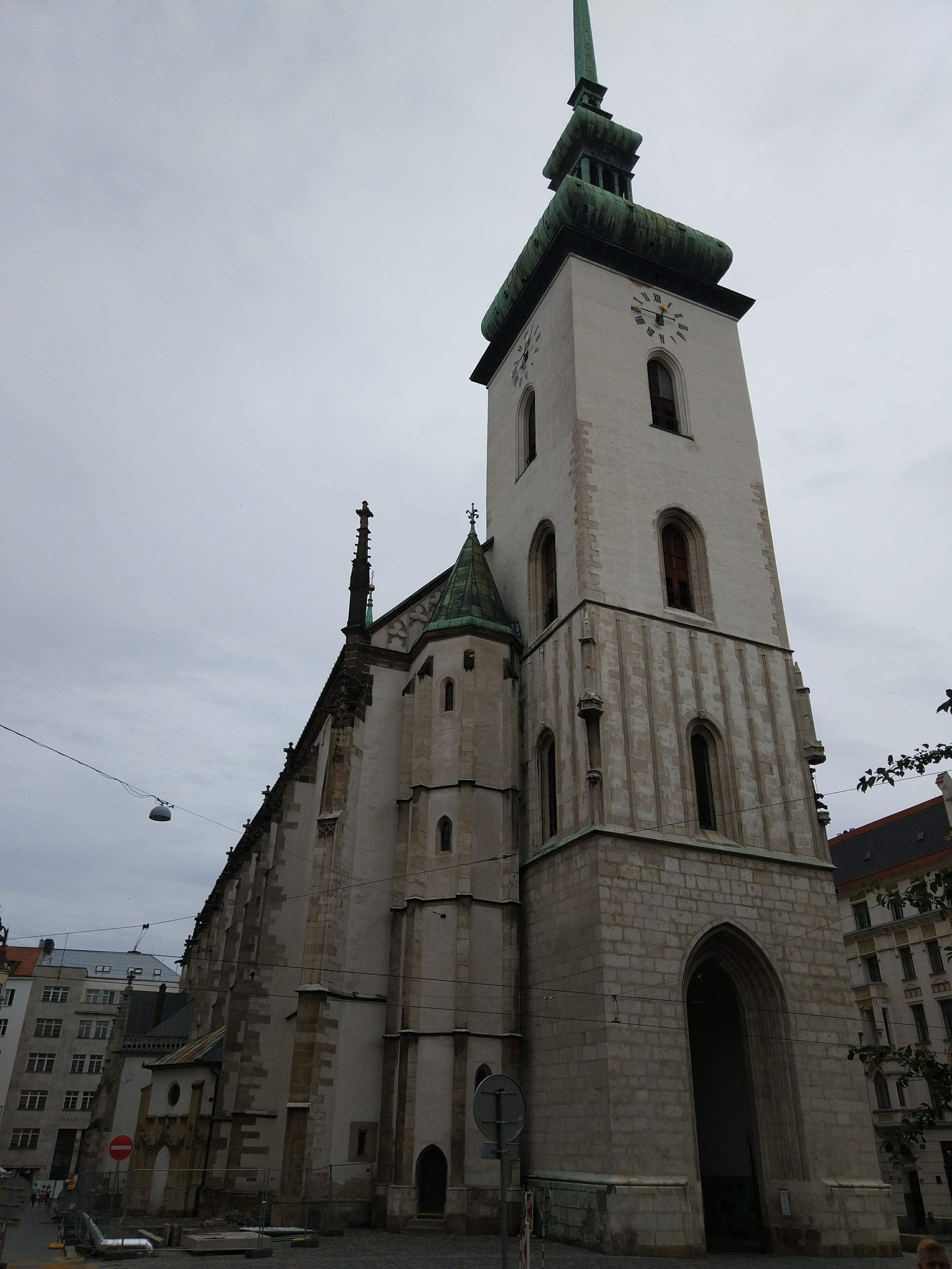 Church of St. James - a church with history spanning back to the 13th century