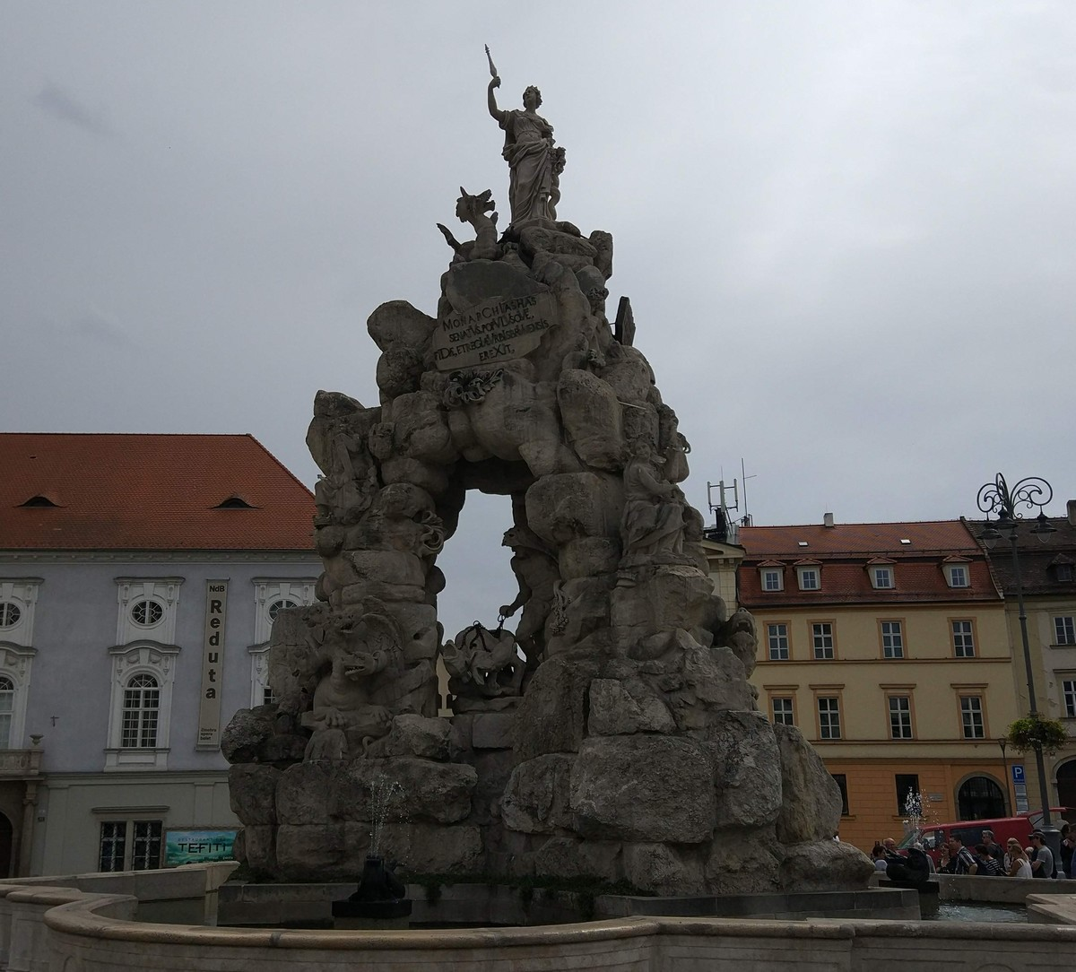 The Parnas fountain in Brno