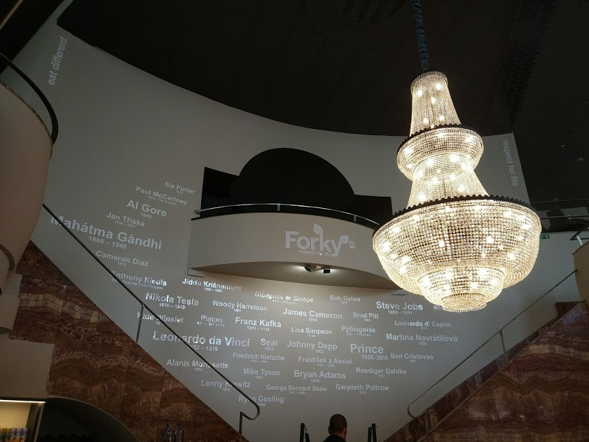 Visiting Forky's in Brno