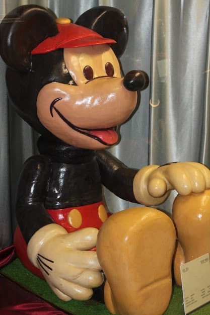 Mickey Mouse in marzipan as well