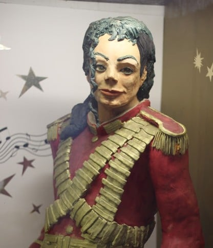 Michael Jackson in the Marzipan museum in Szentendre