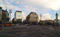Kalvin square in Budapest