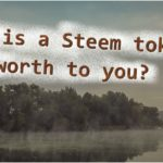 steem token worth to you